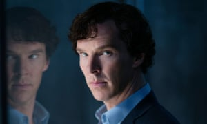 """""""WARNING: Embargoed for publication until 00:00:01 on 10/01/2017 - Programme Name: Sherlock - TX: 15/01/2017 - Episode: Sherlock S4 - Ep3 (No. 3) - Picture Shows: **STRICTLY EMBARGOED UNTIL 10TH JANUARY 2017** Sherlock Holmes (BENEDICT CUMBERBATCH) - (C) Hartswood Films - Photographer: Laurence Cendrowicz"""""""