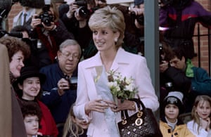 'I think she'd have liked it' … Diana in 1996.
