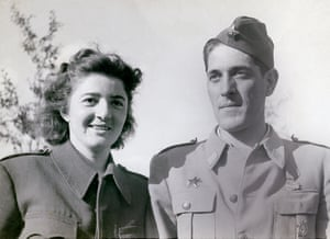 Marina Abramović's parents, Danica and Vojin, in 1945
