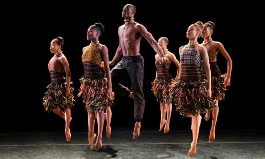 'Rainbow company' … Alvin Ailey American Dance Theatre in Lift, by Canadian choreographer Aszure Barton.