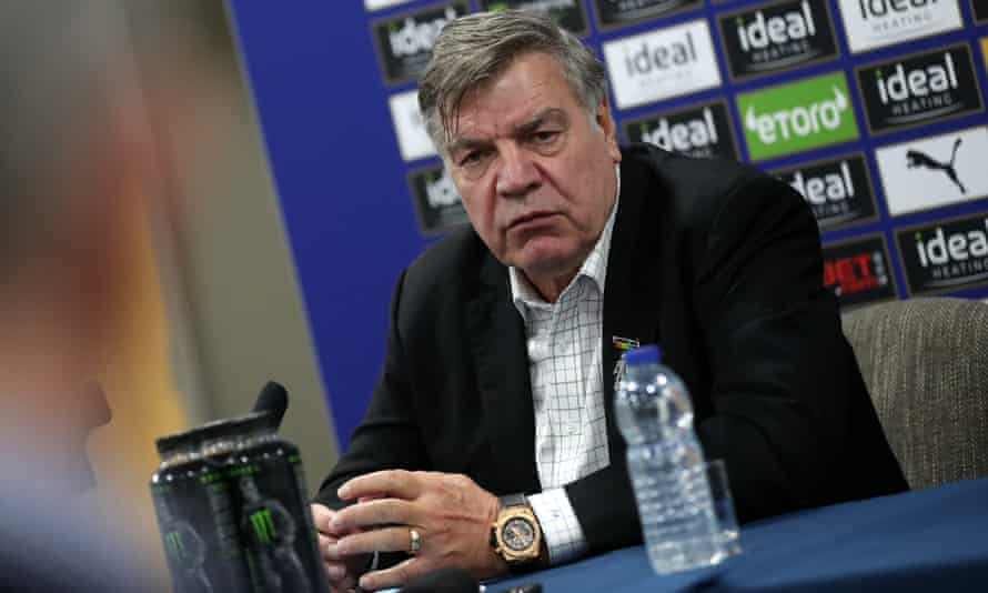 Sam Allardyce is unveiled as new manager of West Bromwich Albion