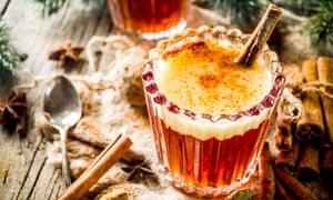 Homemade Hot Buttered Rum