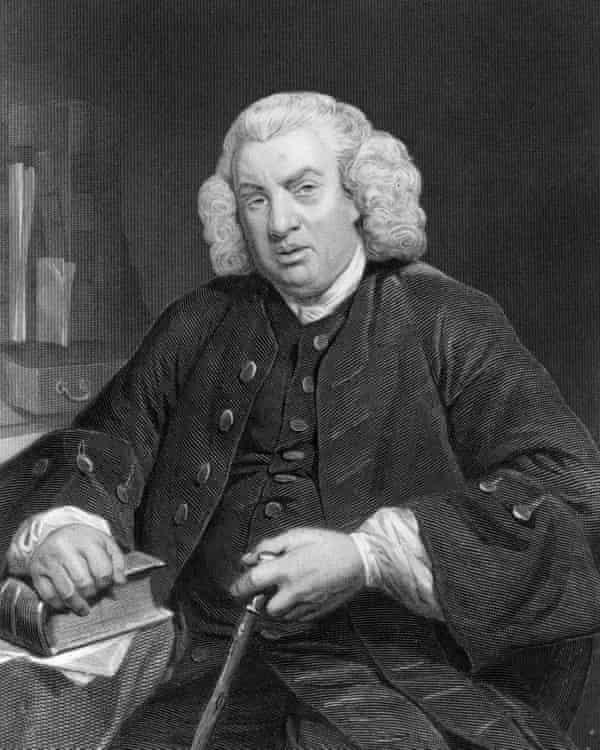 Samuel Johnson was a member of the Anacreontic Society