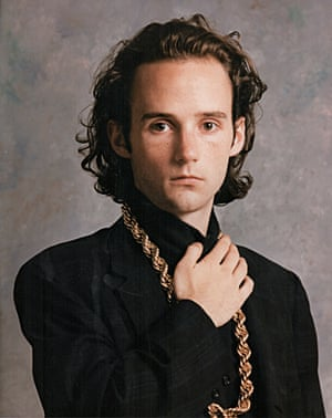 Moby in his first promo shoot, 1988
