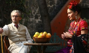 Trotsky's life in Mexico with Frida Kahlo is portrayed in the drama.