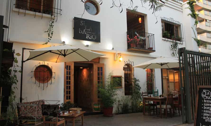 Silabario Cocina Local, Santiago