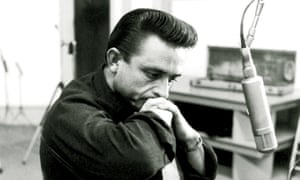 'A man whose heart beat with the rhythm of love and social justice' … Johnny Cash