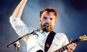 Scott Hutchison performing in Glasgow.