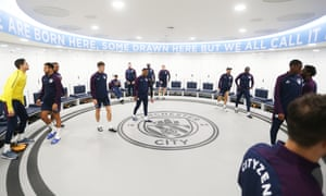 Pep Guardiola S Circular Dressing Room Offers One Way To