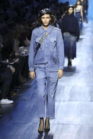 Binx Walton at Dior AW17