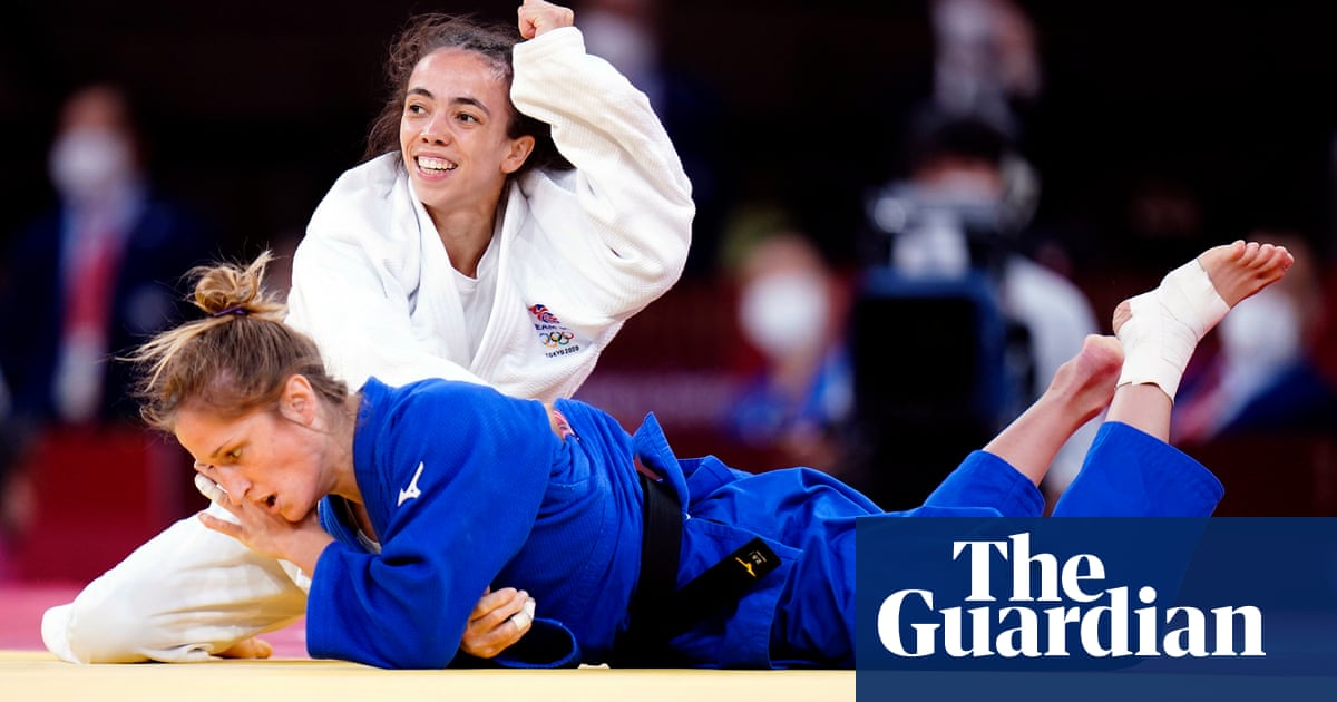 Chelsie Giles wins Britain's first medal of Tokyo Olympics with bronze in judo