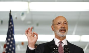 Tom Wolf, who is a Democrat, has received substantial donations from companies with a financial stake in the Mariner East 2 natural gas liquids pipeline.