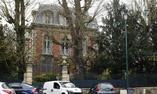 Jean-Marie Le Pen's home in western Paris. His daughter, Marine, lived for a while in a converted stable block in the grounds.