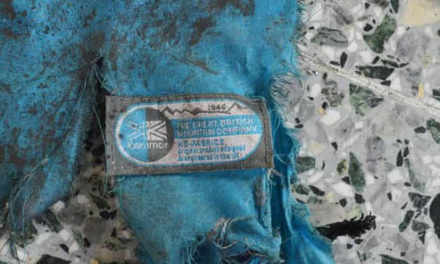 Part of the Karrimor backpack thought to have held the bomb used at Manchester Arena.