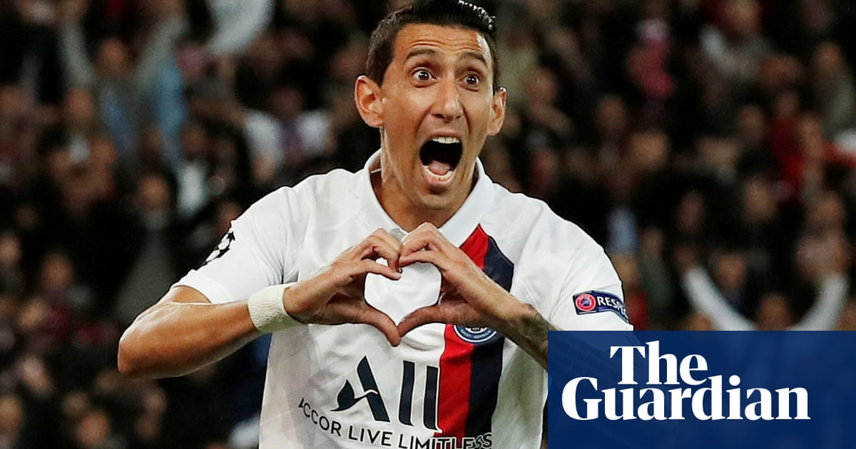 Ángel Di María double helps PSG ease to win against Real Madrid