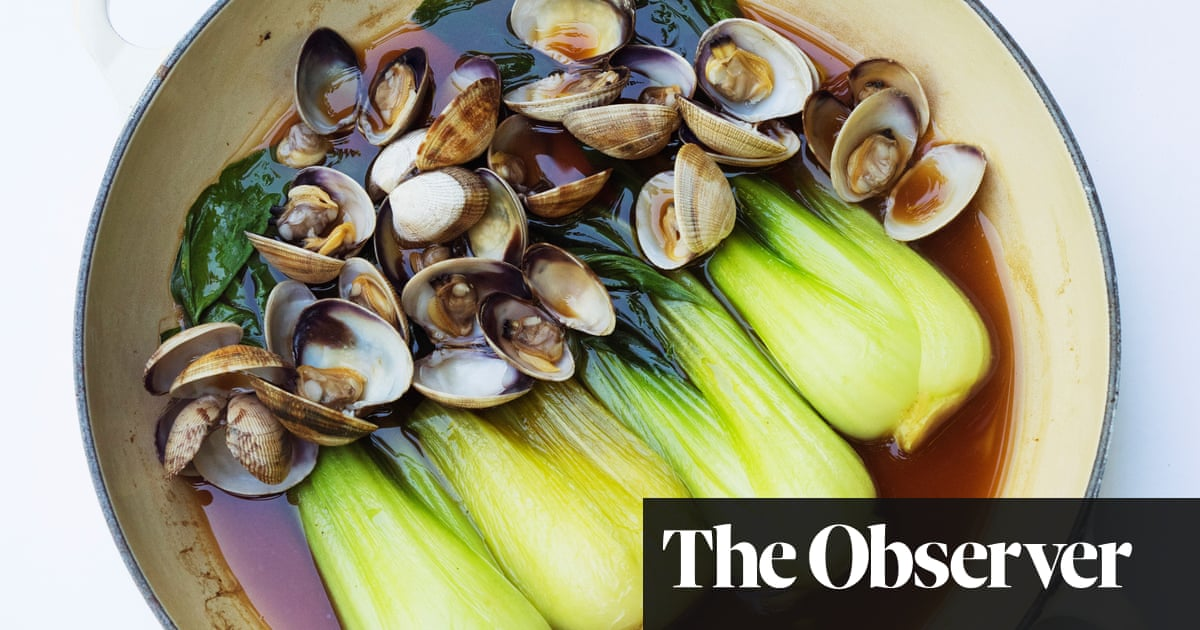 Nigel Slater's clams, pak choi and oyster sauce | Food | The Guardian