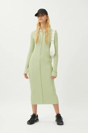 Mint green, £55, weekday.com