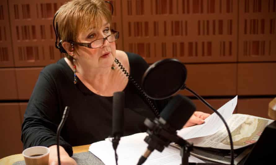 Jenni Murray in studio