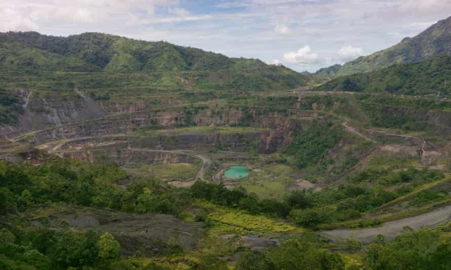 The Panguna mine, located in the east of Papua New Guinea in the Autonomous Region of Bougainville, was at the centre of Bougainville's decade-long civil war.