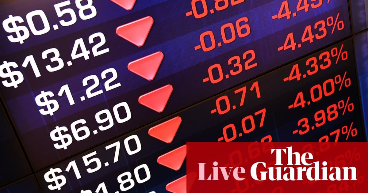 As It Happened Asian Stock Markets Drop After Dows Second Biggest