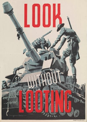 A British army poster from 1943