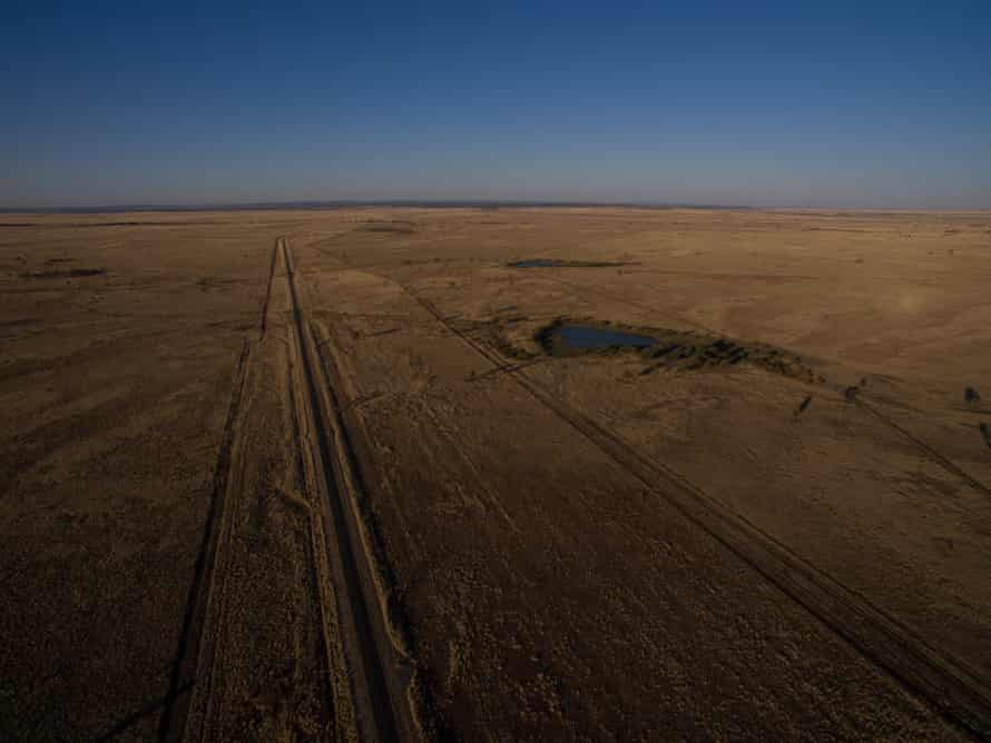 Drought affected land near Tambo, Queensland, Australia.