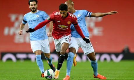 Marcus Rashford says Manchester United will settle only for the title