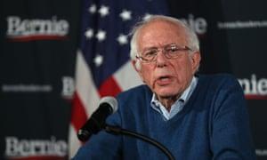 Democratic presidential candidate Bernie Sanders delivers an update.