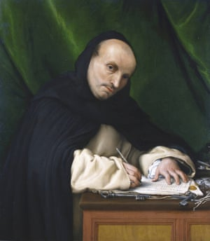 Portrait of a Dominican Friar from the Convent at San Zanipolo, 1526.