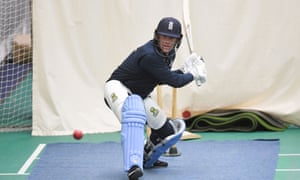 Eoin Morgan suffered a back spasm against West Indies but was back in the nets on Monday.