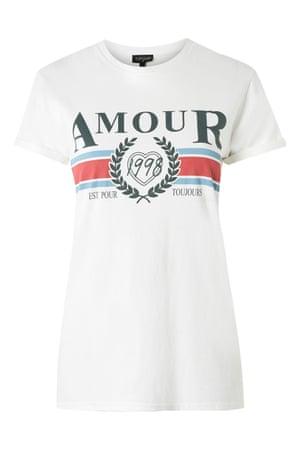 Amour 1998, £16, topshop.com