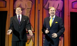 Paul Whitehouse, left, and Mark Williams in a live performance of The Fast Show.