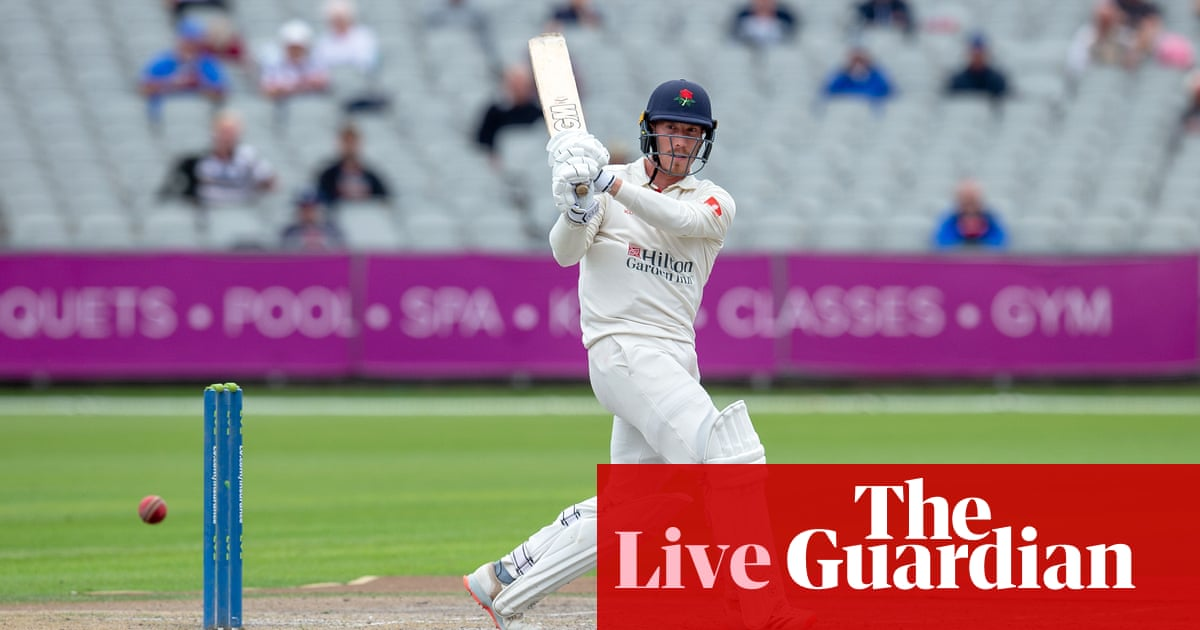 County cricket day four: Lancashire v Kent, Somerset v Leicestershire and more!