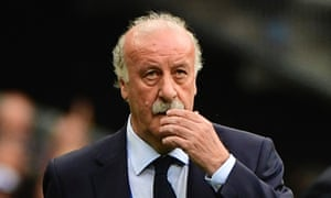 "Spain's coach Vicente Del Bosque, says: 'Spanish football still has a great structure, with good players and coaches. I think the late goal by Croatia, in the last group game was the one that really did the damage.""'"