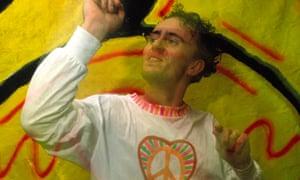 Danny Rampling dancing