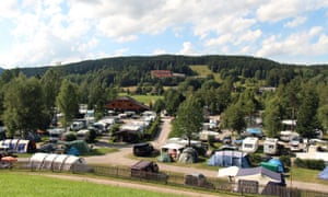 Camping Bankenhof - Hinterzarten am Titisee, Germany.