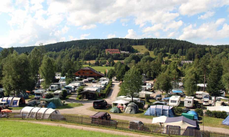 Camping Bankenhof - Hinterzarten am Titisee, Germany.