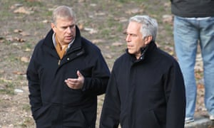 Prince Andrew and Jeffrey Epstein in Central Park, New York, 2010