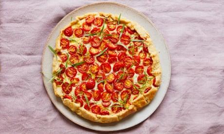 Thomasina Miers' recipe for tomato, cheese and tarragon galette