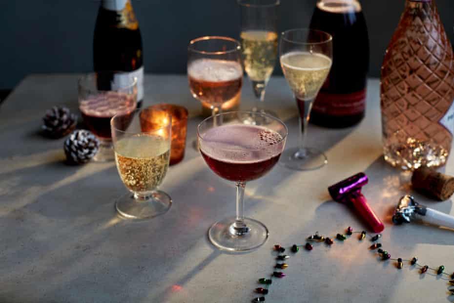 Fiona Beckett's festive spread of fizz 2020