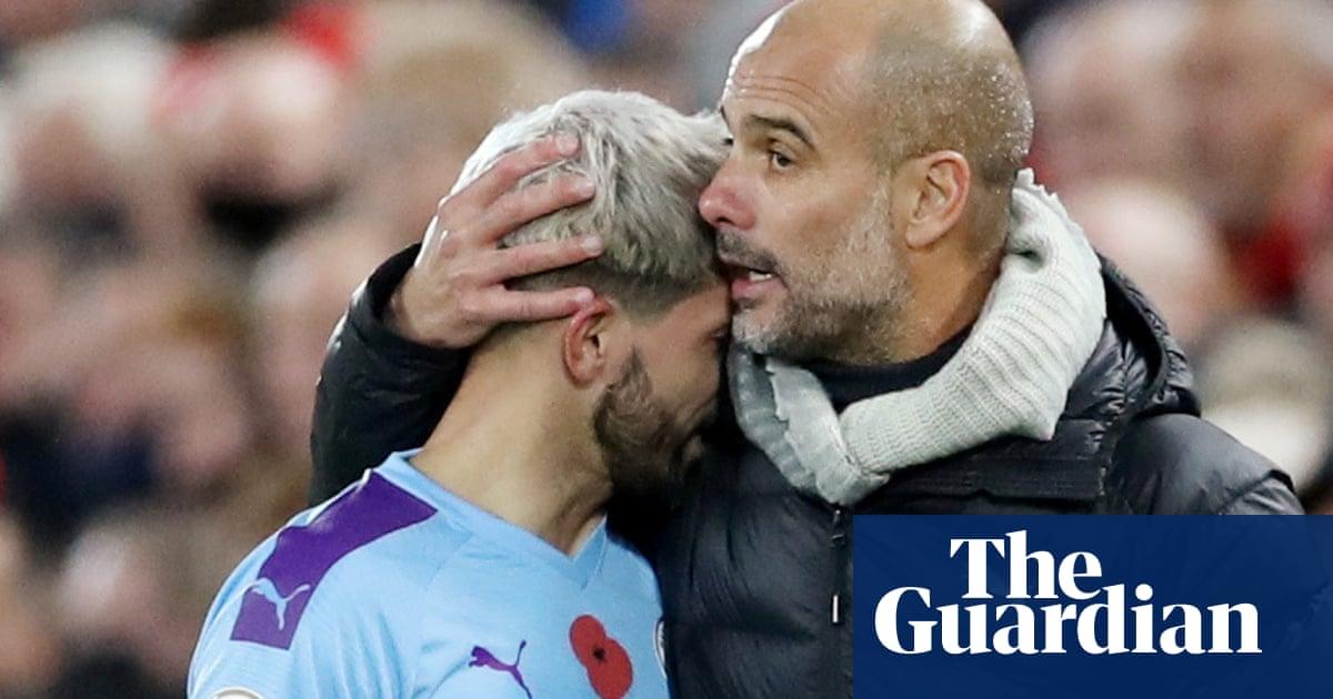 Guardiola hails 'irreplaceable' Agüero before striker's Manchester City exit