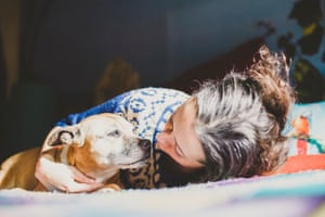 My dog was looking into my eyes as she died': the grief of