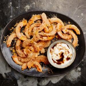 Yotam Ottolenghi's five-spice butternut squash fritters