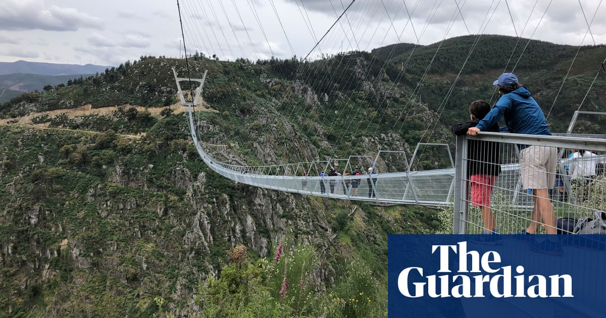 We walked the world's longest suspension bridge in Portugal's natural playground