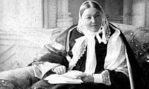 'A terrible woman' … Florence Nightingale.