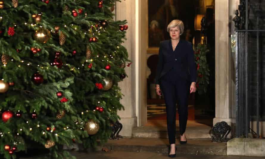 Theresa May in 2018
