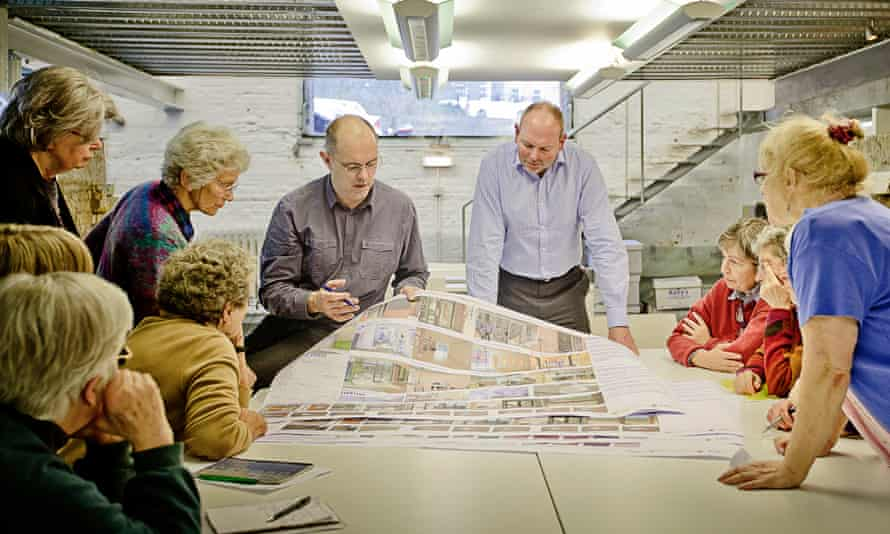 New Ground co-design session hosted by the architects, Pollard Thomas Edwards