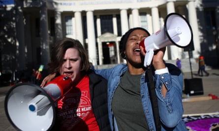 Teachers protest in Oakland amid calls for better pay. San Francisco, next door, is among the most expensive cities for teachers in the country.