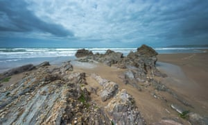 Tregantle beach, Cornwall.