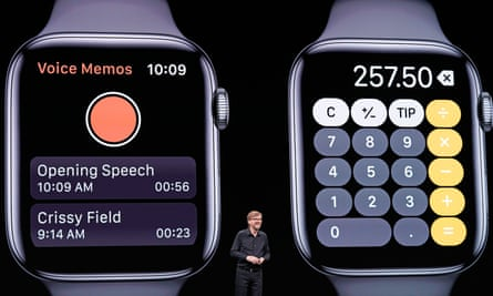 Voice memos and a calculator are coming to the Apple Watch.